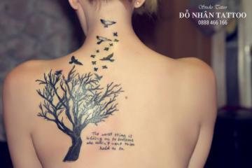 Ý nghĩa hình xăm cây đời