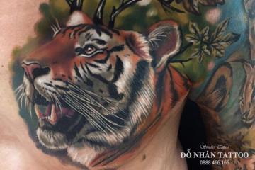 Ý nghĩa hình xăm con hổ