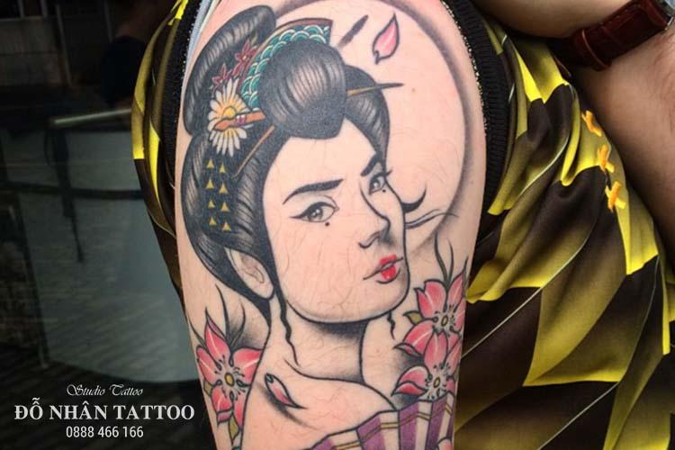 Ý nghĩa hình xăm geisha
