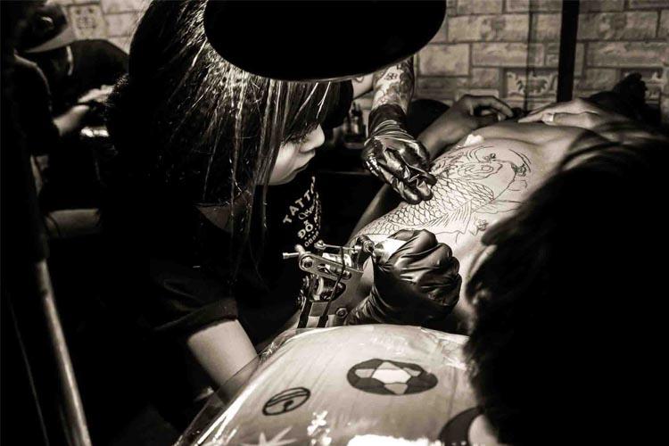 Khóa đào tạo dạy xăm hình chuyên nghiệp tại thành phố Hồ Chí Minh