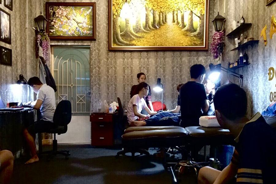 Tiệm xăm hình nghệ thuật uy tín, chất lượng tại TPHCM (Sài Gòn)