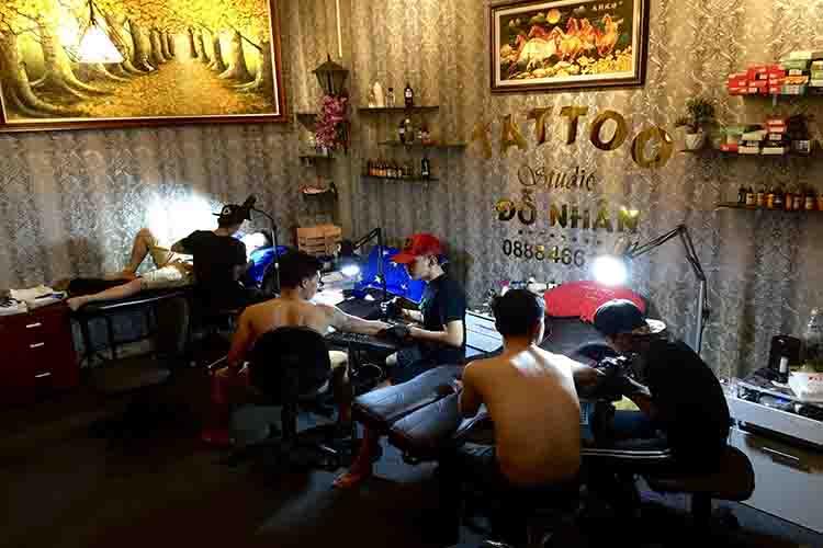 Tiệm xăm nổi tiếng Sài Gòn (TPHCM)