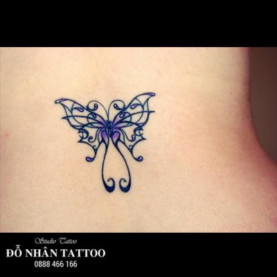 hình xăm bướm 3d 17