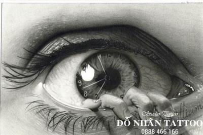 Hình xăm con mắt 105