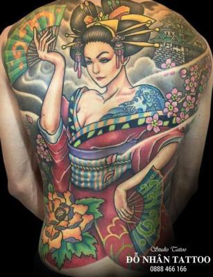 Hình xăm Gái Nhật 67