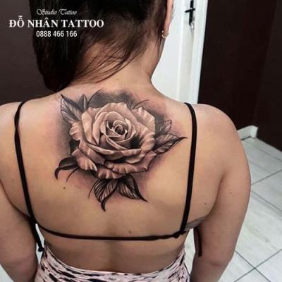 Hình xăm hoa hồng 202