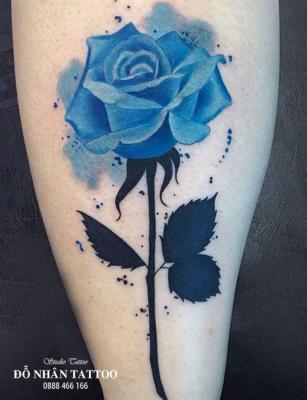 Hình xăm hoa hồng 214
