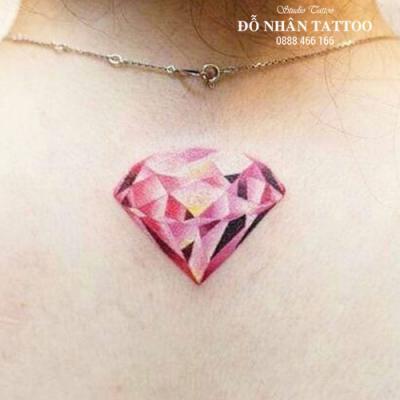 Hình xăm kim cương 10