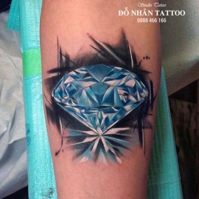 Hình xăm kim cương 101