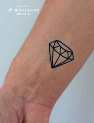 Hình xăm kim cương 106