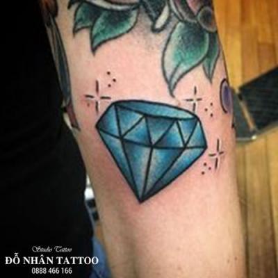 Hình xăm kim cương 107