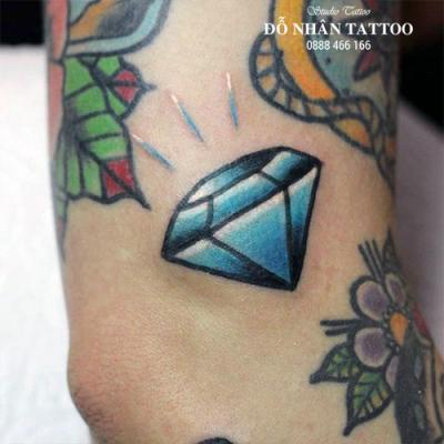 Hình xăm kim cương 109