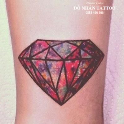 Hình xăm kim cương 11
