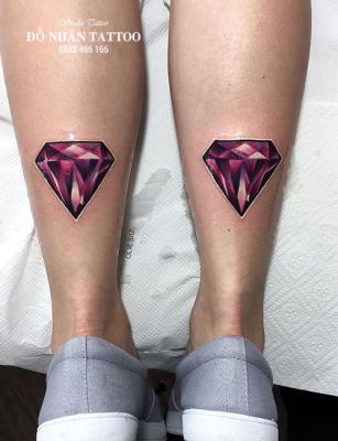 Hình xăm kim cương 23