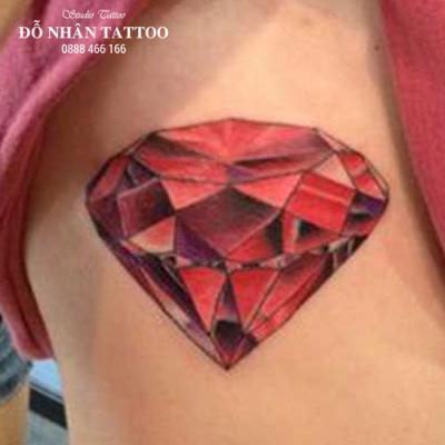Hình xăm kim cương 24