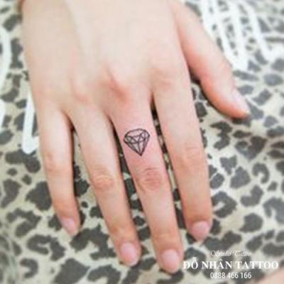 Hình xăm kim cương 46