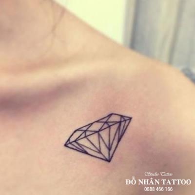 Hình xăm kim cương 49