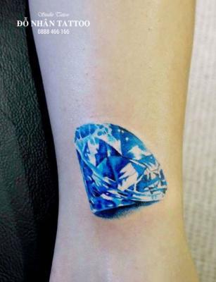 Hình xăm kim cương 52