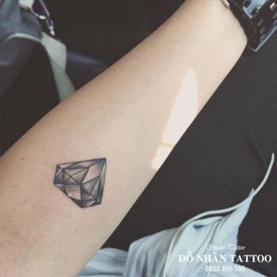 Hình xăm kim cương 54