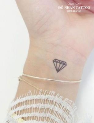 Hình xăm kim cương 57