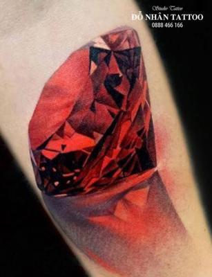 Hình xăm kim cương 71