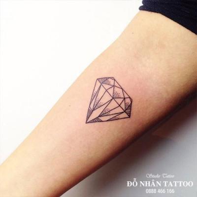 Hình xăm kim cương 72