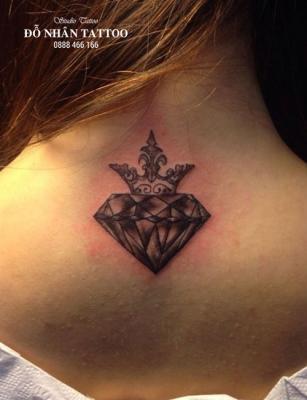 Hình xăm kim cương 8