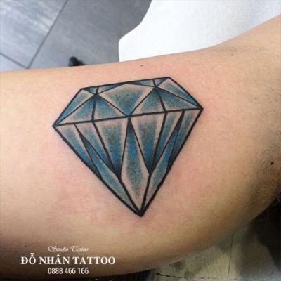 Hình xăm kim cương 81
