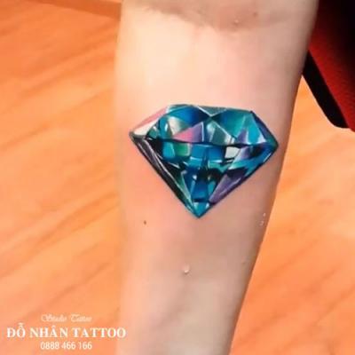 Hình xăm kim cương 89