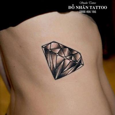 Hình xăm kim cương 91