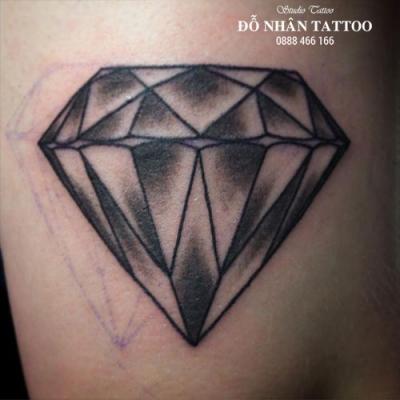 Hình xăm kim cương 93