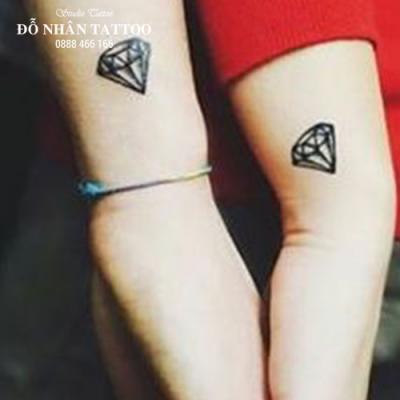 Hình xăm kim cương 98