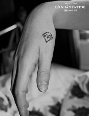 Hình xăm kim cương 99