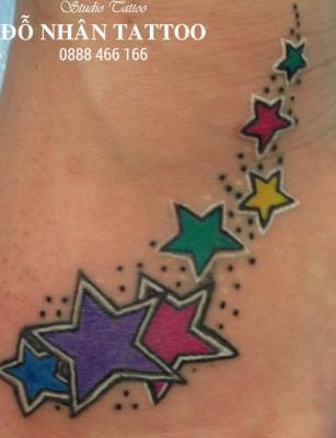 Hình xăm ngôi sao 339