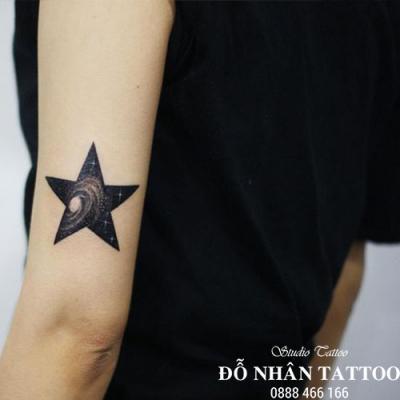Hình xăm ngôi sao 374