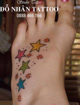 Hình xăm ngôi sao 383