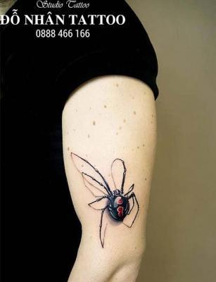 Hình xăm nhện 262