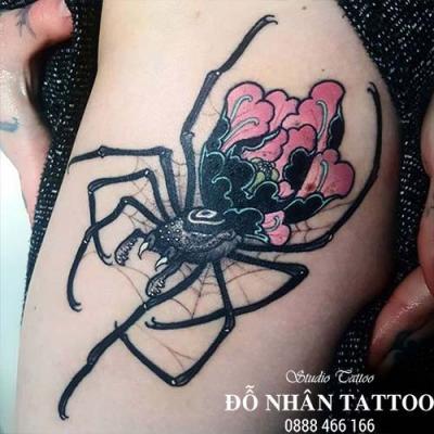 Hình xăm nhện 276