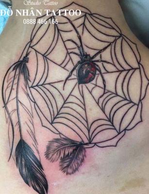Hình xăm nhện 288