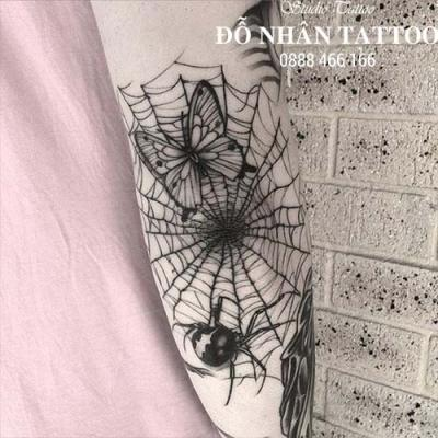 Hình xăm nhện 301