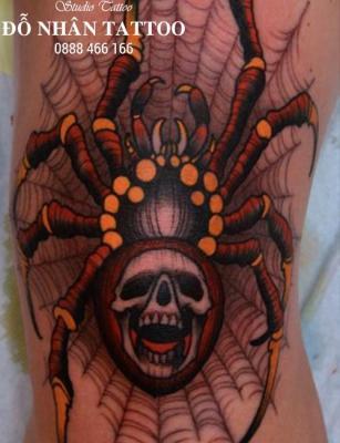 Hình xăm nhện 315