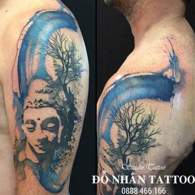 Hình xăm Phật 379