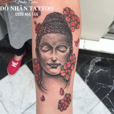 Hình xăm Phật 381