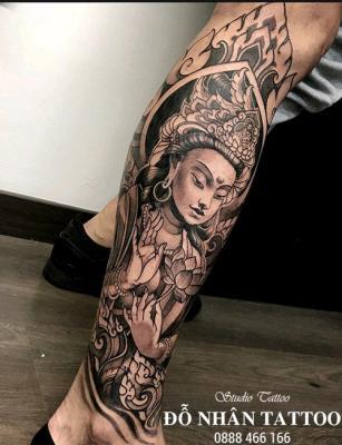 Hình xăm Phật 383