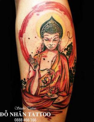 Hình xăm Phật 384