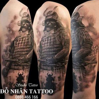 Hình xăm Samurai 1