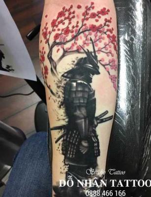 Hình xăm Samurai 101