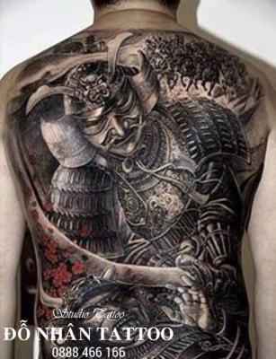 Hình xăm Samurai 102