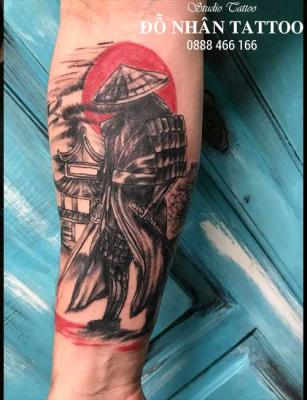 Hình xăm Samurai 103