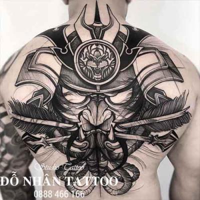 Hình xăm Samurai 108